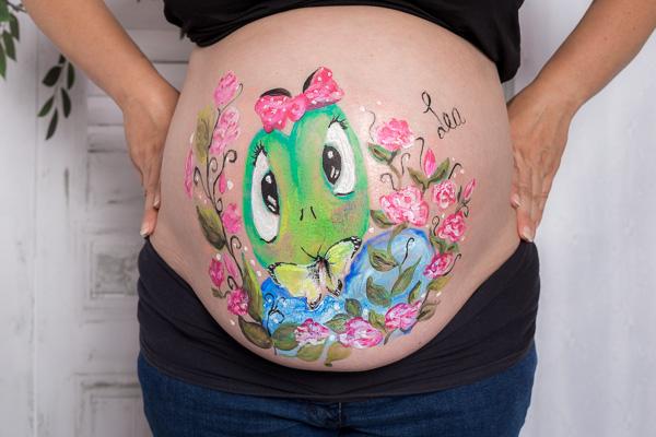 Portrait Babybauch / Schwangerschaft Fotografie