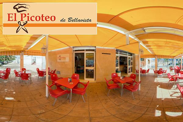 Google Street View Maps Business Fotograf 360 Grad Panorama 360° Fotografie Restaurant Malaga Spanien