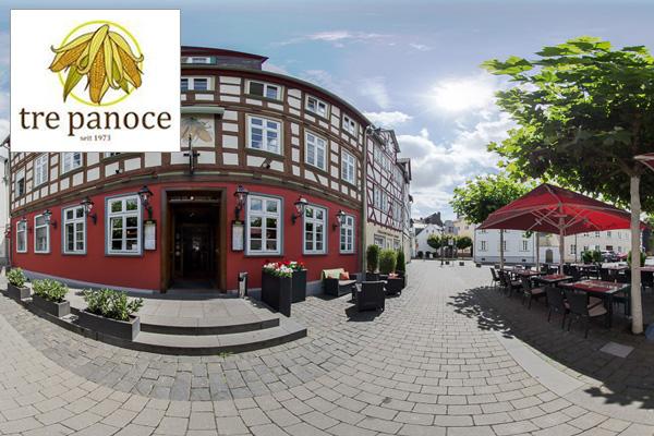 Google Street View Maps Business Fotograf 360 Grad Panorama 360° Fotografie Restaurant Tre Panoce Wetzlar